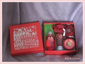 cadeaux noel coffret TBS fraise
