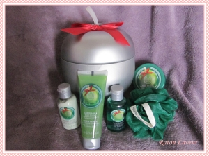 cadeaux noel coffret TBS pomme