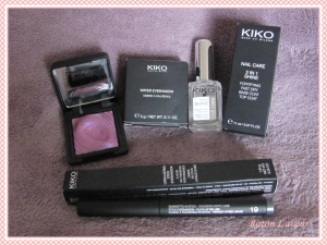 kiko haul dec 2014
