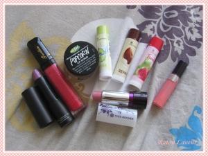 trousse lèvres produits utilise