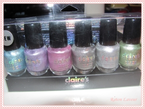vernis claires metalise