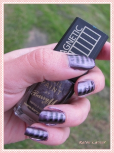 vernis magnetique Barry M