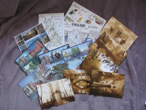 cartes postales cambridge