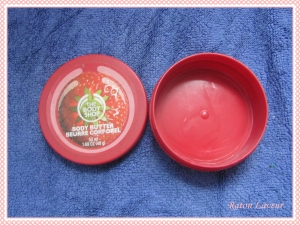 beurre corporel TBS fraise