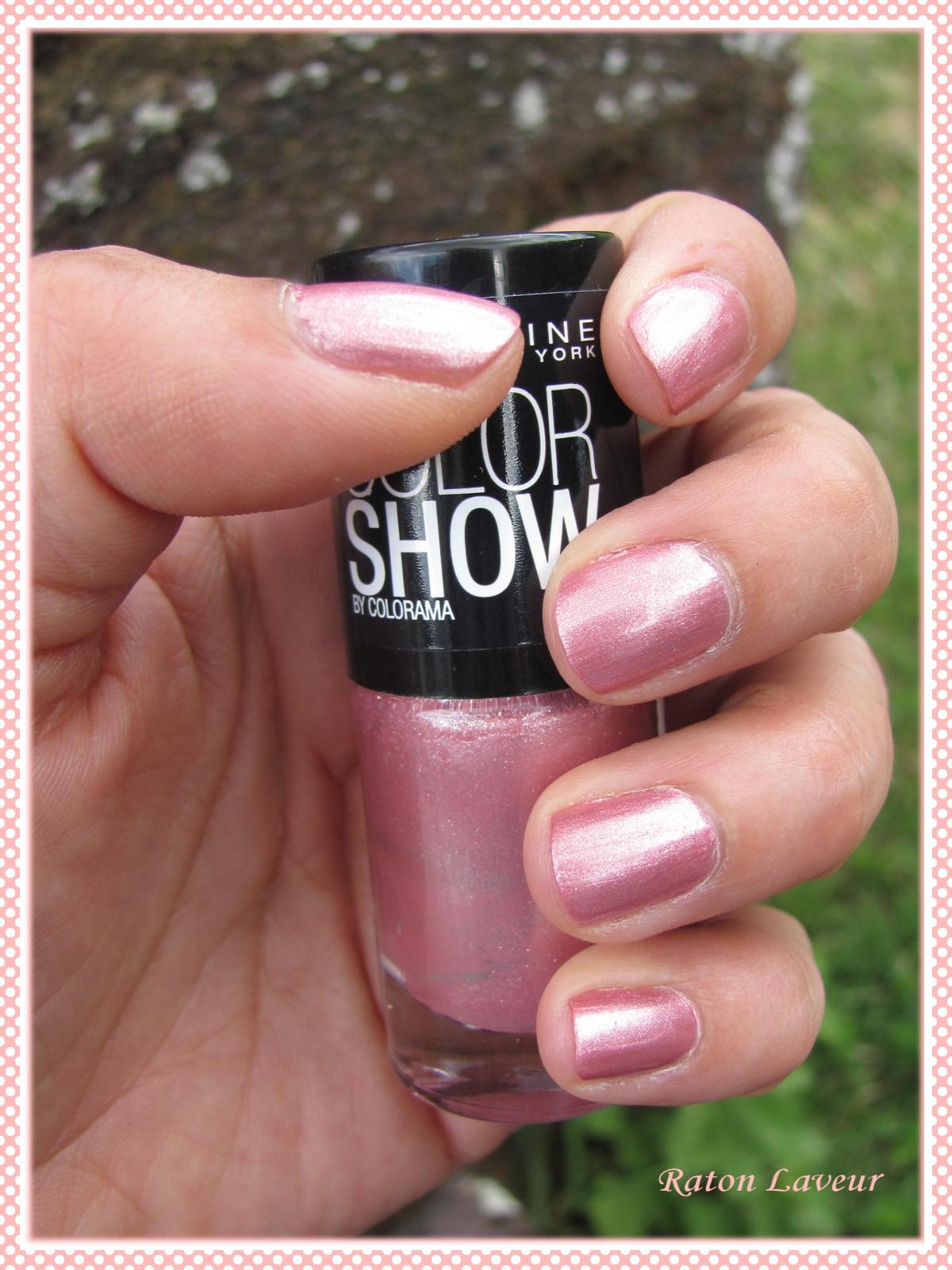vernis colorshow rose - Vernis Color Show