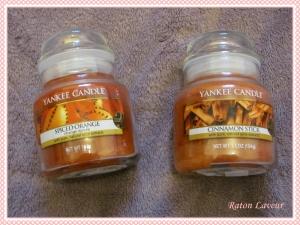 yankee candles spiced orange cinnamon